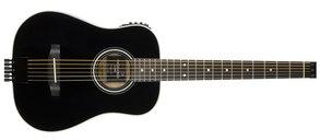 Traveler Guitars AG-200EQ Acoustic w/EQ Black