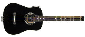 Traveler Guitars AG-200EQ Acoustic w/EQ Black