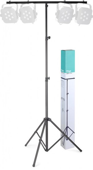 BLACK ONE TIER LIGHT STAND