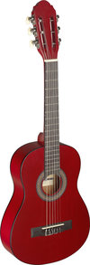 1/4 Linden Classic Guitar/Red
