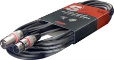 10M/33F MIKE CBL XLRf-XLRm/RED