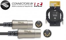 10M/33Ft Midi Cable Dinm Dlx