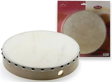 "10"" Pretuned Hand Drum Wood"